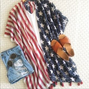 Other - Stars & Stripes Kimono